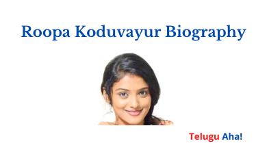 roopa-koduvayur-biography
