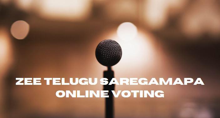 Zee Telugu SAREGAMAPA Online Voting Missed Call Numbers 2021