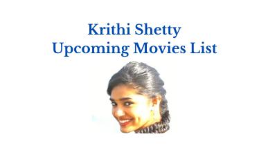 krithi shetty upcoming movies list 2021