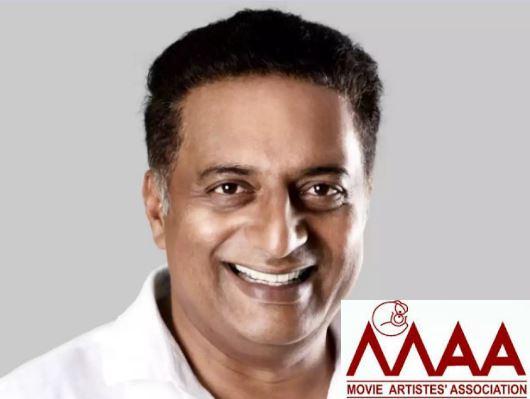 Prakash Raj to contest for MAA Association Election