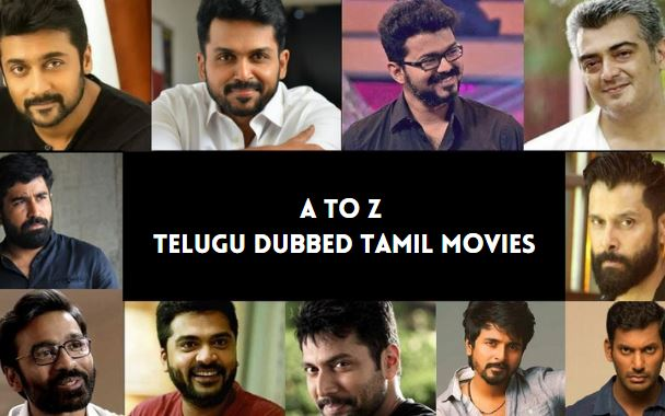telugu dubbed tamil movies list