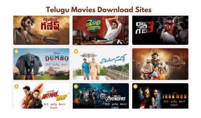 telugu movies download sites