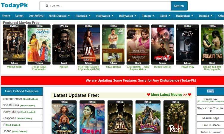 today pk movies 2021
