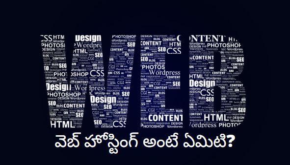 web hosting in telugu explained