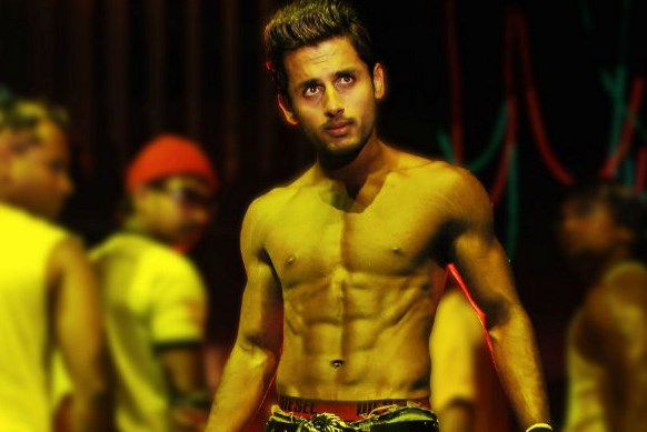 First 8 Pack Hero In Tollywood