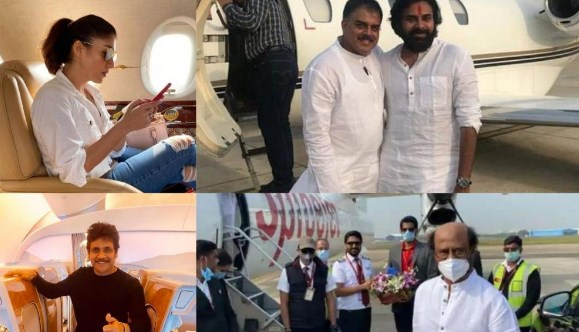 Tollywood Actors Who Own Private Jets